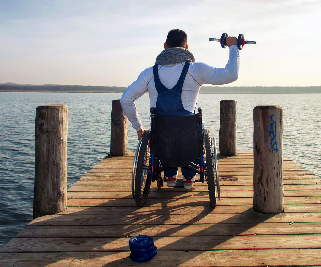 Fitness Equipment For Wheelchair Users - A Visual Tour